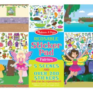 8603-reusablestickerpad-fairies-cover