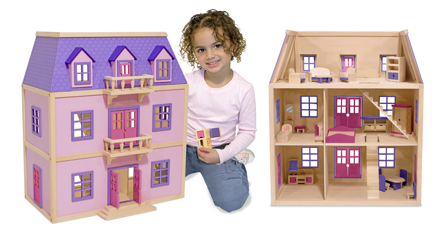 57 Doll Houses and Accessories
