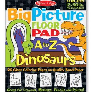 9111-BigPictureFloorPad-AtoZ-Dinosaurs