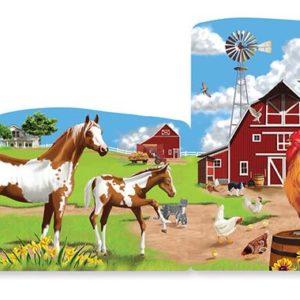 Farm 4-in-1 Linking Floor Puzzle (96 pc)